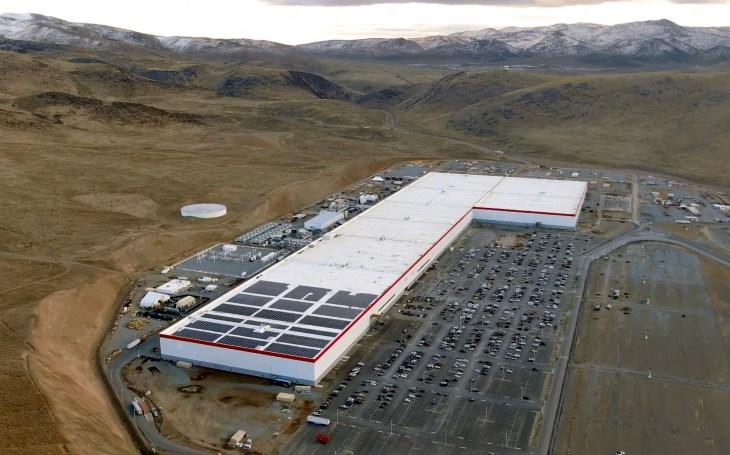 Tesla Gigafactory 1 - December 2019