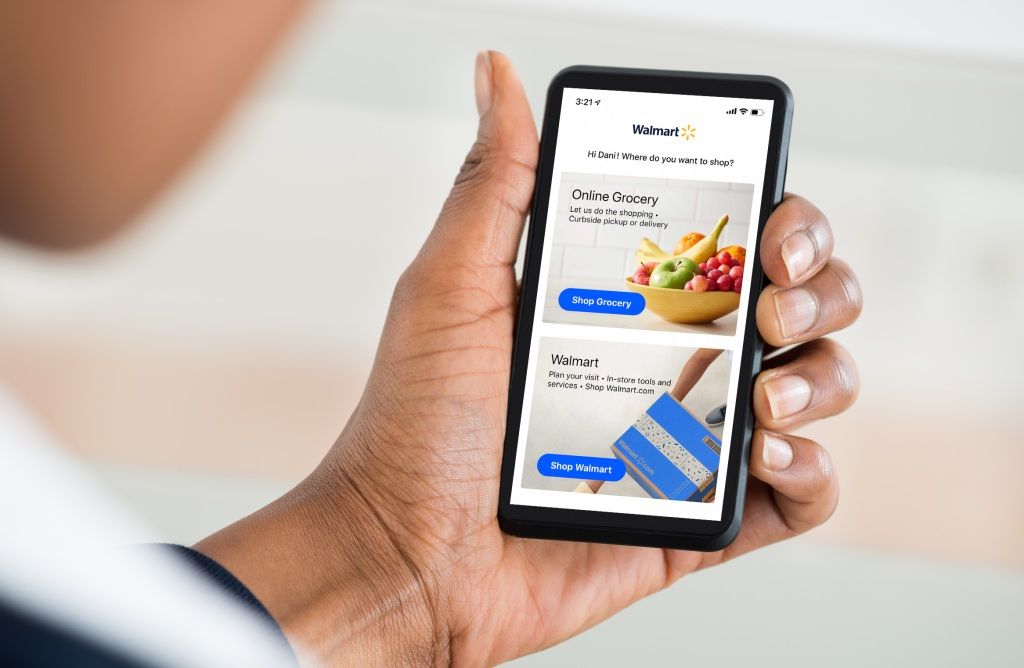 Walmart Grocery Is Merging With Walmart S Main App And Website Techcrunch