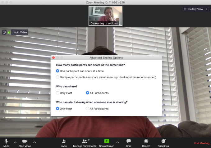 Beware Of Zoombombing Screensharing Filth To Video Calls Techcrunch Police said it had been alerted of the incident on thursday afternoon. screensharing filth to video calls
