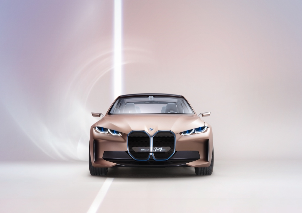 The Bmw Concept I4 Gets Us Closer To What S Coming In 2021 Techcrunch