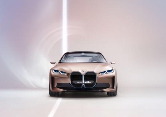 The BMW Concept i4 gets us closer to what's coming in 2021