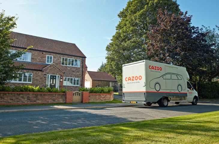 cazoo delivery van