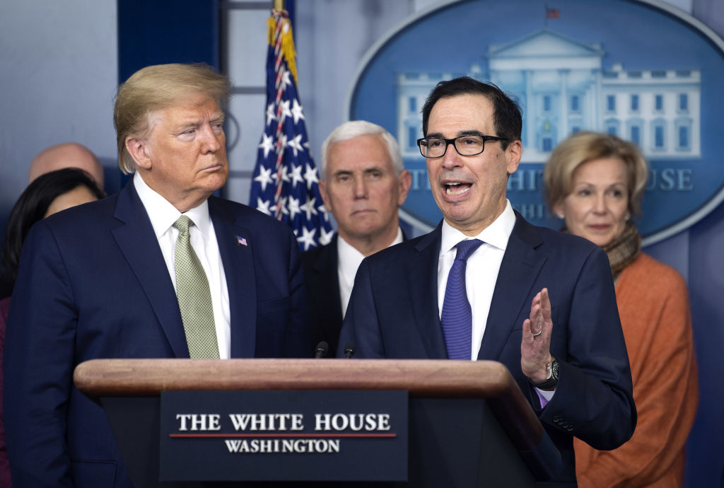 Mnuchin: Family of 4 could get $3K under virus relief plan
