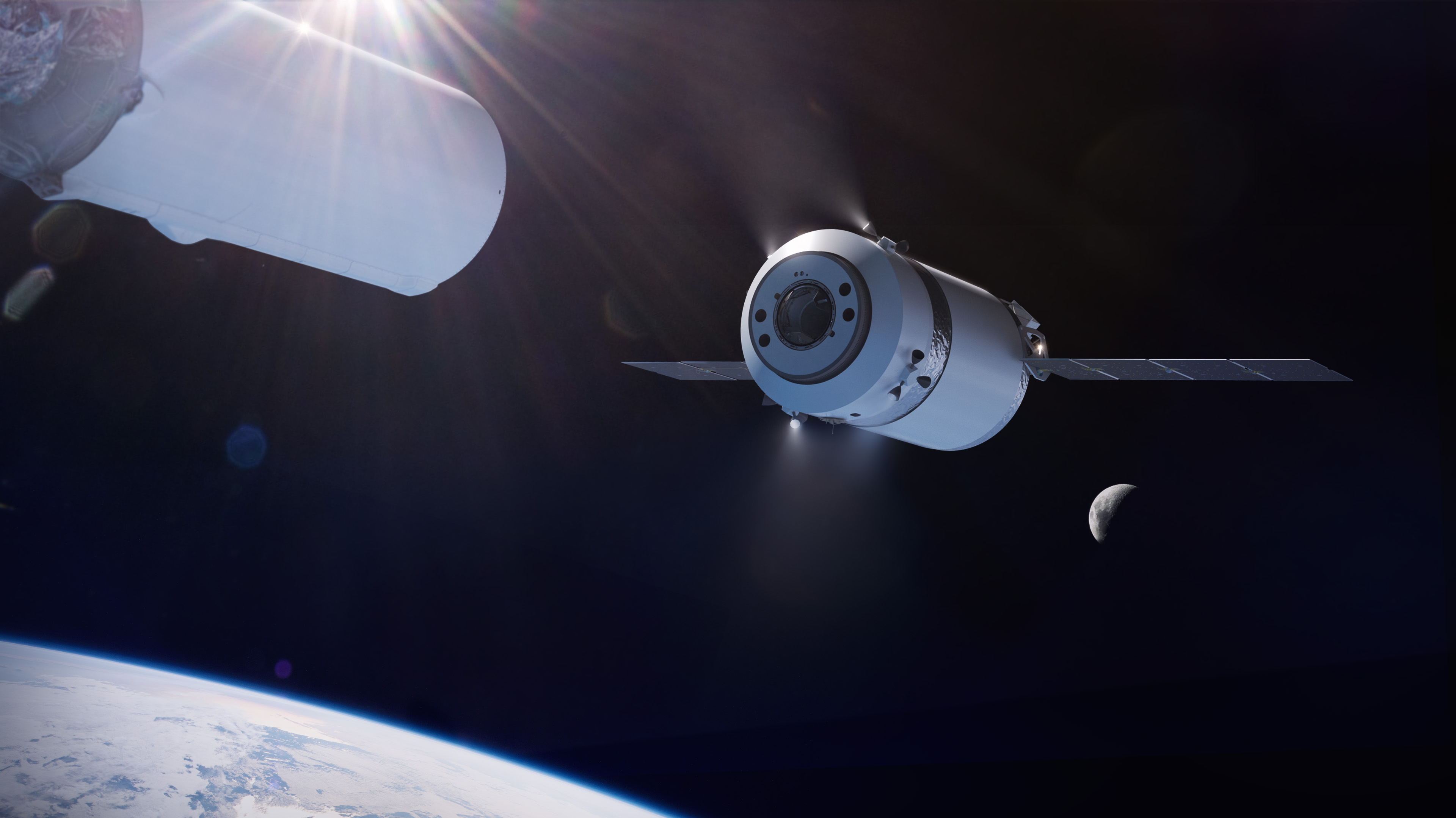 SpaceX wins contract to supply NASA's planned lunar space station