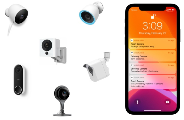 VisualOne smartens up home security cameras with object and action recognition