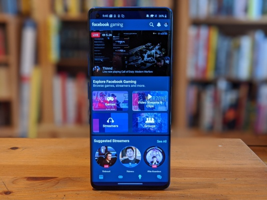 Facebook's new Gaming app launches on Android, with iOS version coming soon – TechCrunch