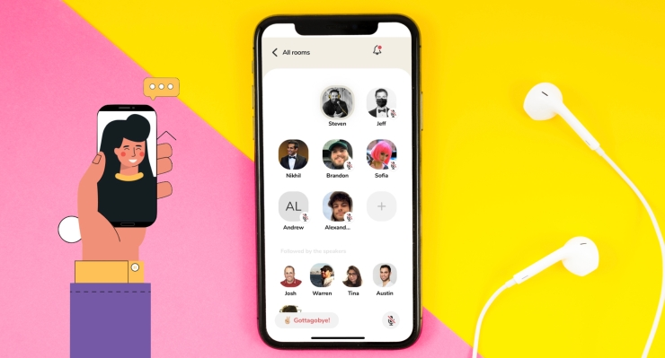 Clubhouse voice chat leads a wave of spontaneous social apps – TechCrunch
