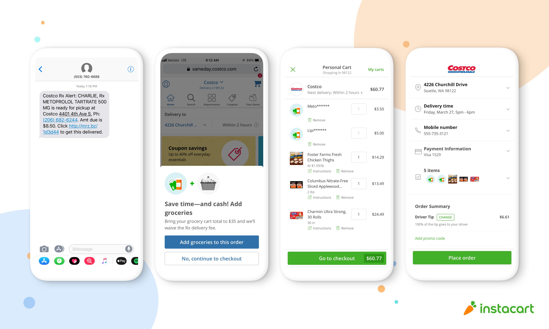 Instacart jumps into prescription delivery with Costco | TechCrunch