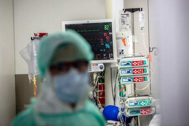 Medics Fighting Coronavirus Inside Hospital de Sant Pau