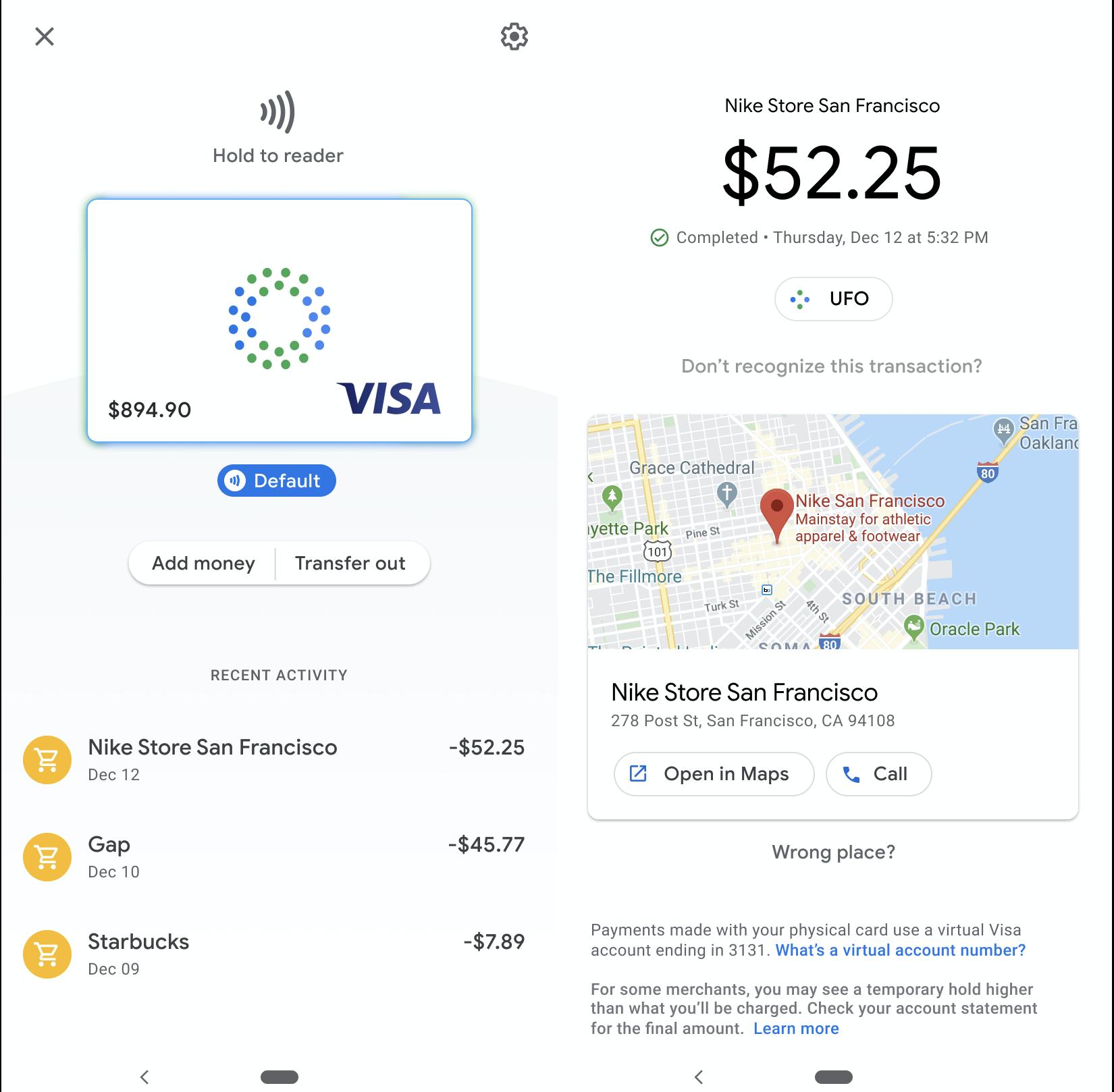 google debit card