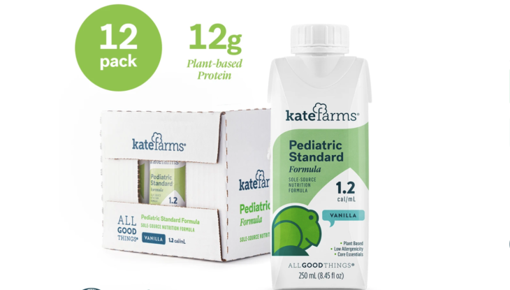 With 23 Million For Its Plant Based Liquid Meals Kate Farms Pushes Into Consumer And Healthcare Techcrunch