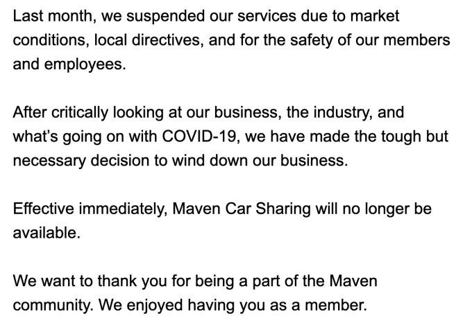 maven shut down