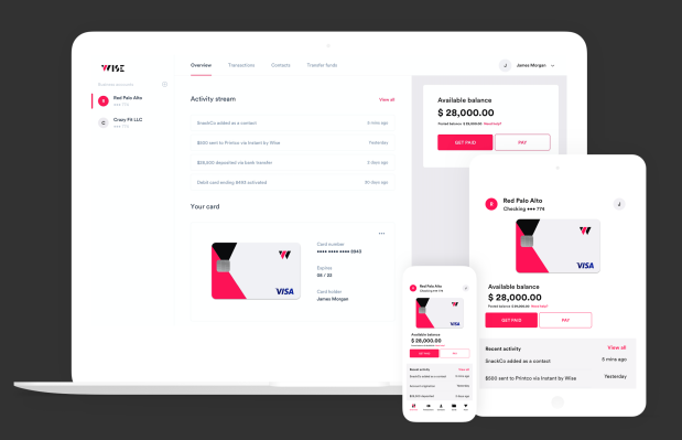 Wise locks down $5.7 million to scale its challenger bank designed for small businesses thumbnail