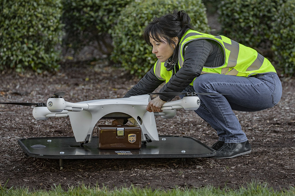UPS, CVS To Launch Residential Drone Delivery Service In Florida