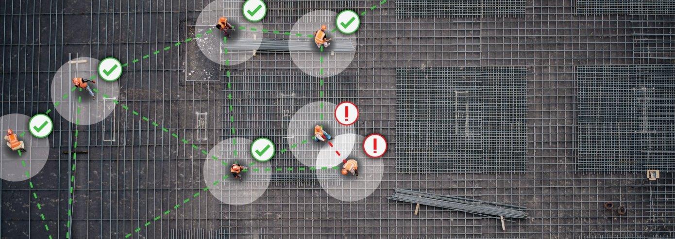 Une start-up sur la sécurité des électriciens lance un système de suivi des distances et des contacts sur le lieu de travail lié au COVID-19