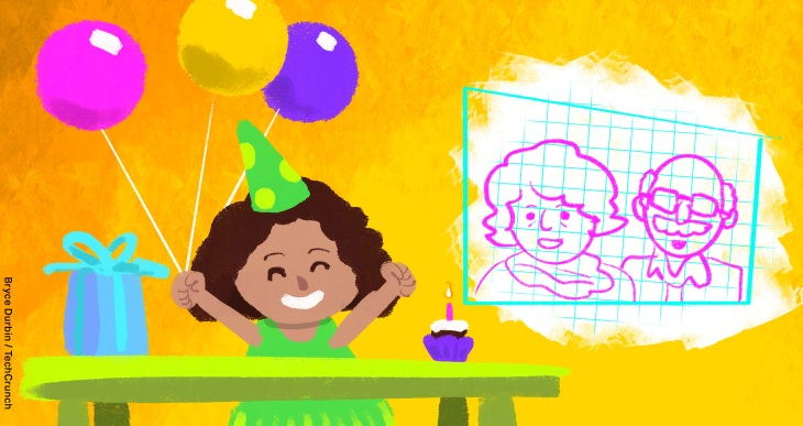 Creative Ways To Host A Virtual Birthday Party For Kids Techcrunch