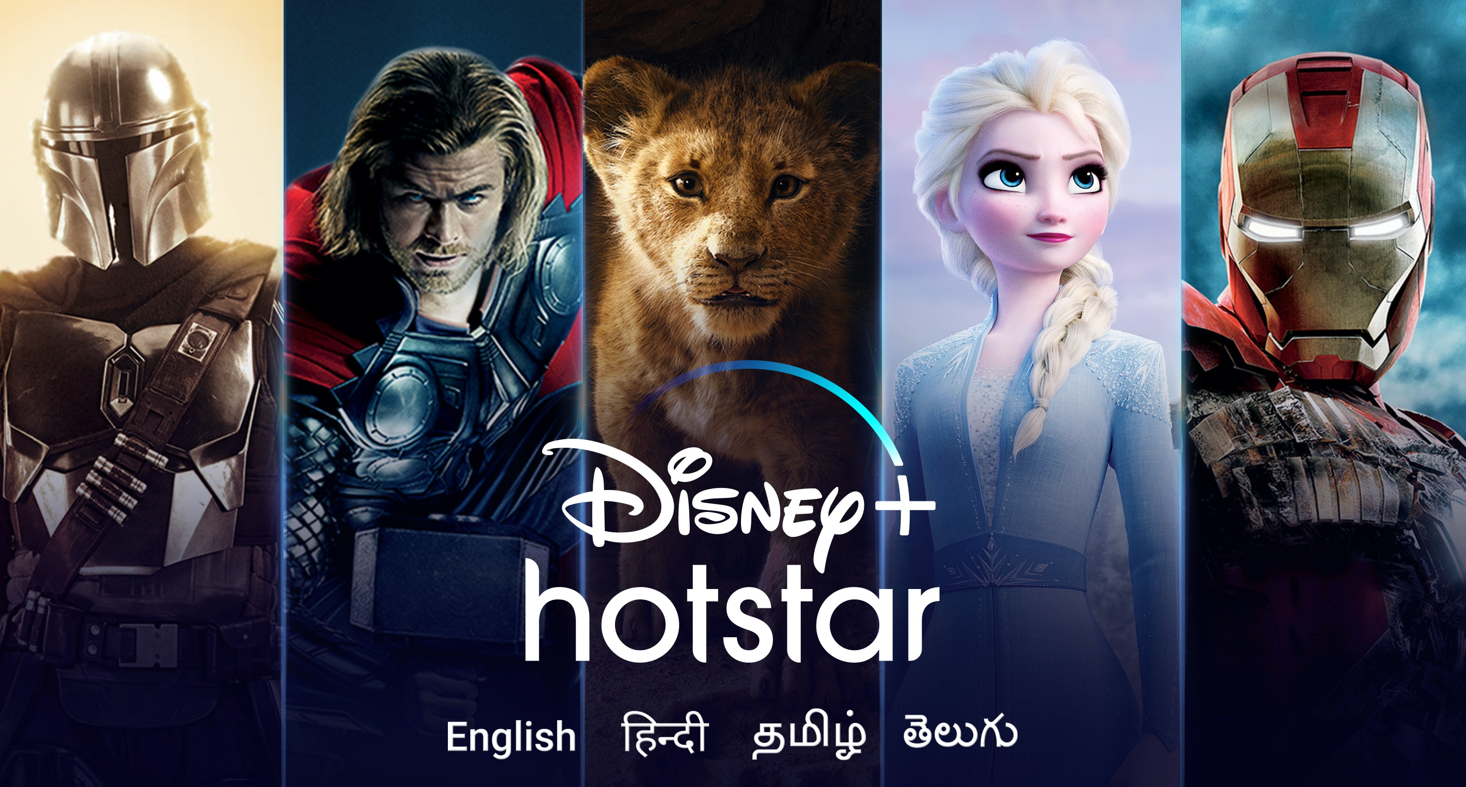 Disney+ Hotstar Screen Preview for the Best Netflix Alternatives Platforms