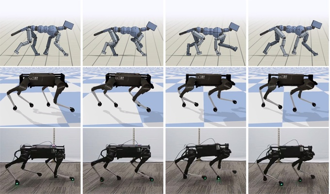 Google research makes for an effortless robotic dog trot - techcrunch