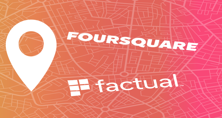 Foursquare merges with Factual thumbnail