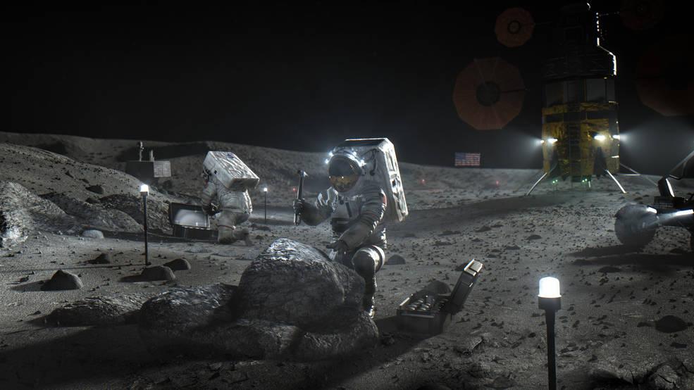 NASA Awards US Companies Contracts for Human Moon Landing
