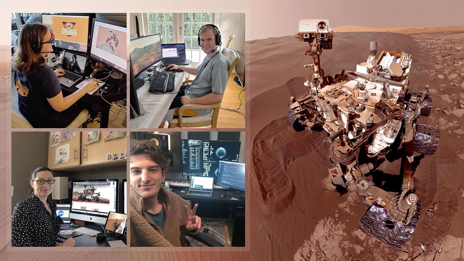 NASA's Curiosity Mars Team Is Controlling the Rover From Home