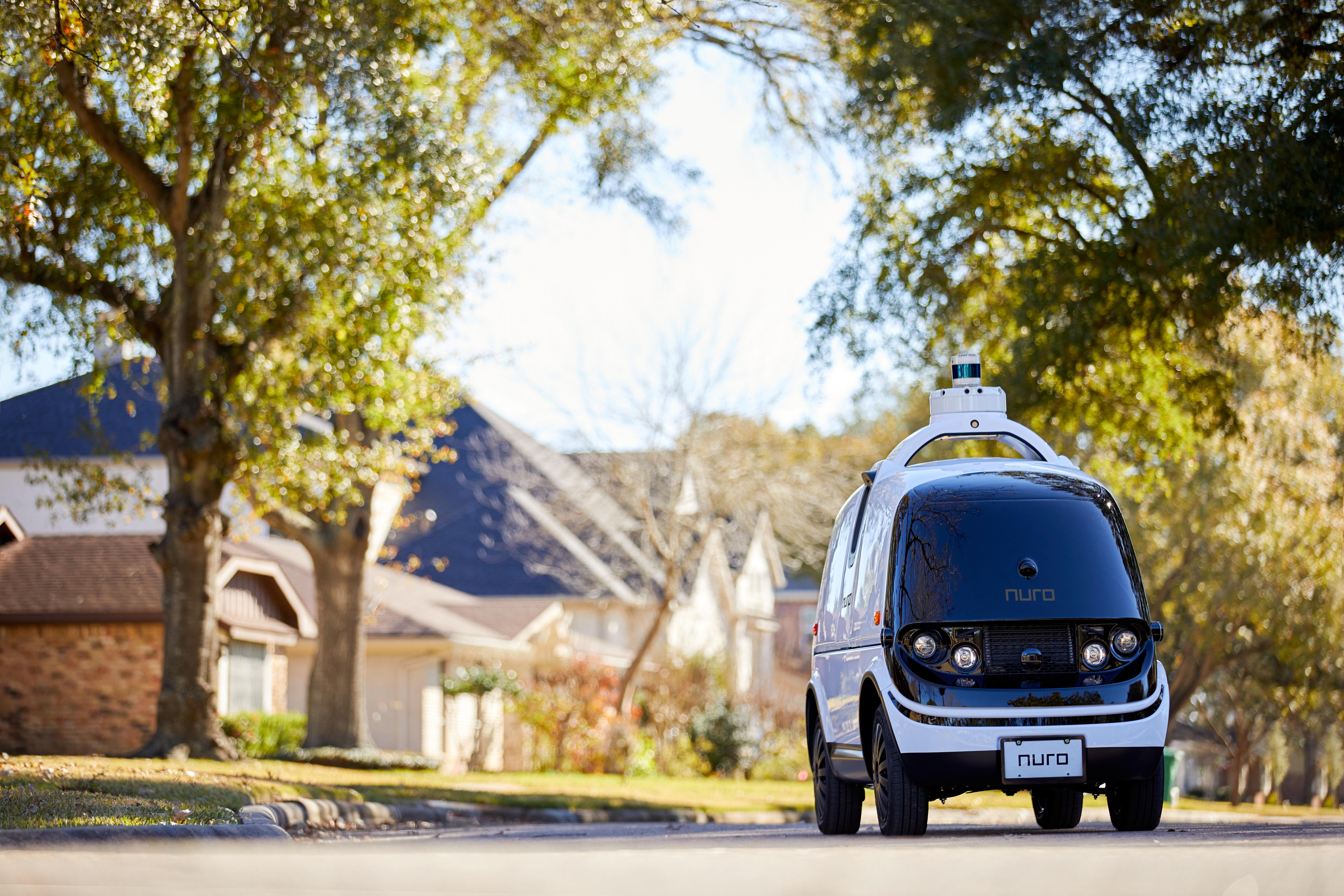 Nuro second gen R2 delivery vehicle
