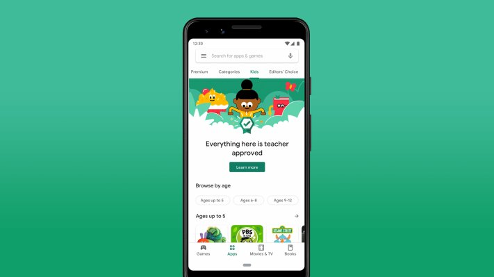 Google Play adds a 'Teacher Approved' section to its app store – TechCrunch