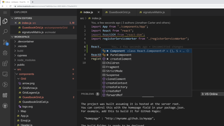 visual studio online hero 1