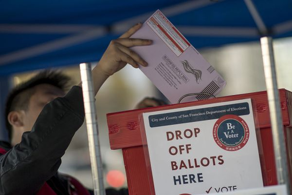 Vote-by-mail should be having its moment. Will it?