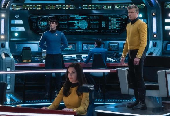 CBS All Access greenlights 'Strange New Worlds,' a new Star Trek series about Pike and Spock thumbnail