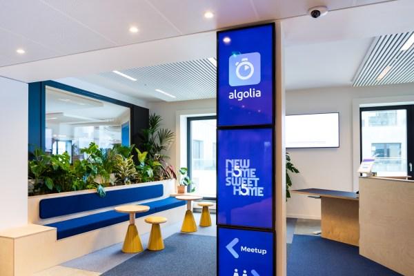 Search API startup Algolia raises $150 million at $2.25 billion valuation � TechCrunch
