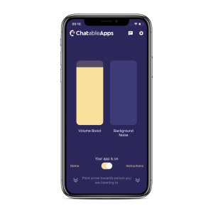 ChatableApps launches its hearing assistance app