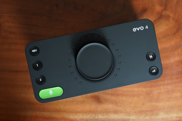 Audient's EVO 4 is a sleek, modern USB audio interface with useful smart features thumbnail