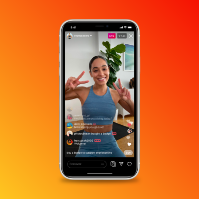Instagram to test new revenue streams, including Badges and IGTV ads thumbnail