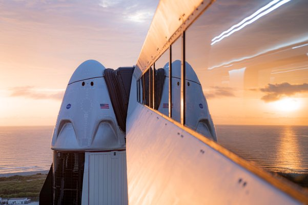 Watch live as SpaceX launches its first ever spacecraft with people on board - techcrunch