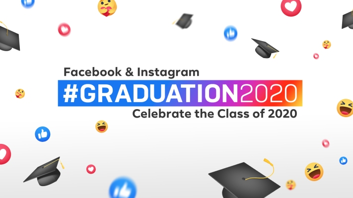Facebook and Instagram launch a week of grad-themed events and features thumbnail