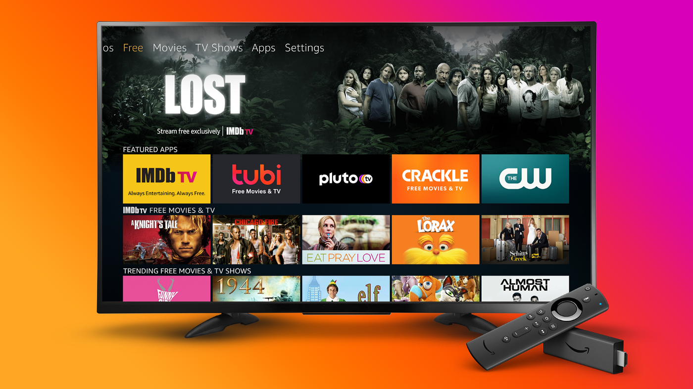 Amazon adds a 'free tab' to Fire TV