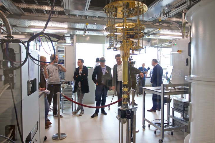 THE NETHERLANDS-DELFT-MICROSOFT QUANTUM LAB-OPENING
