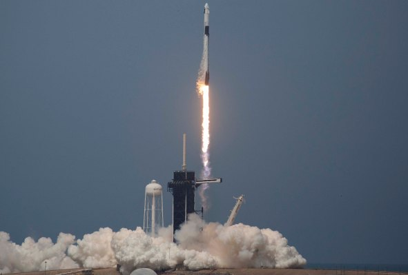 SpaceX makes history with successful first human space launch thumbnail