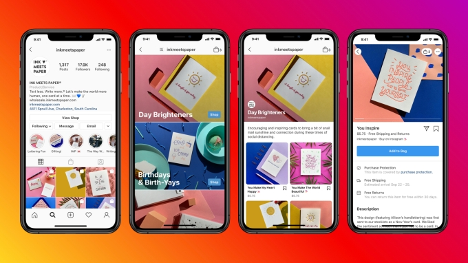 Instagram Shops Feature May 2020