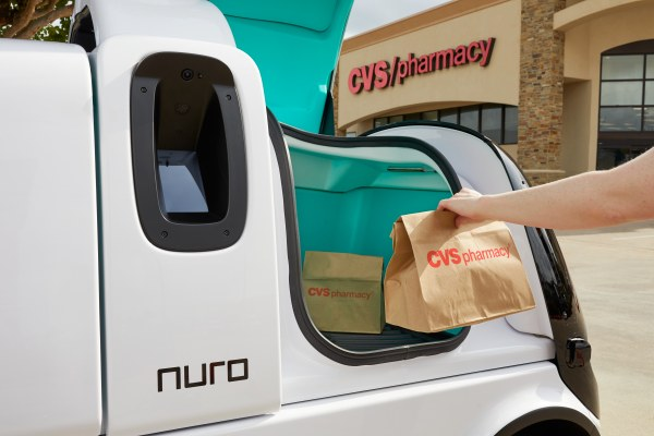 Nuro's self-driving vehicles to delivery prescriptions for CVS Pharmacy thumbnail