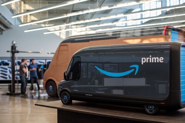 Rivian's Amazon electric delivery van still on track as factory reopens thumbnail