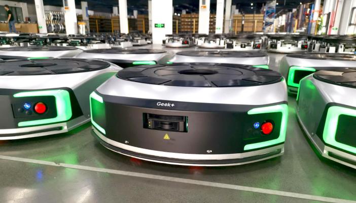 China's Geek+ brings warehouse robots to US via Conveyco partnership