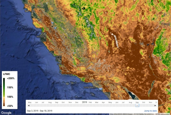 As wildfire season approaches, AI could pinpoint risky regions using satellite imagery thumbnail