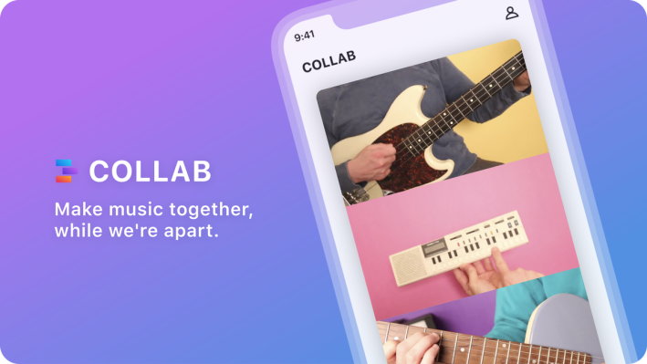 Facebook launches Collab, a mix-and-match app for making collaborative music videos thumbnail