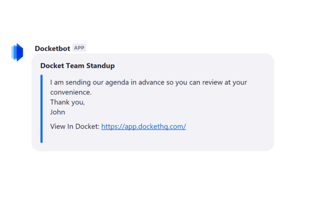 Docket, a platform for organizing meeting agendas and notes, wins Zoom's Marketplace App competition thumbnail