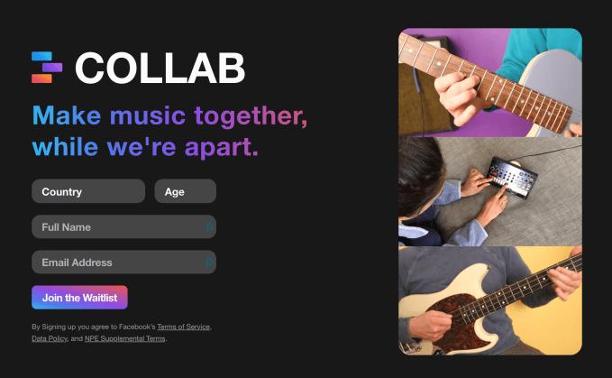 Facebook lanza Collab, una aplicación de mezcla y combinación para hacer videos musicales colaborativos 1