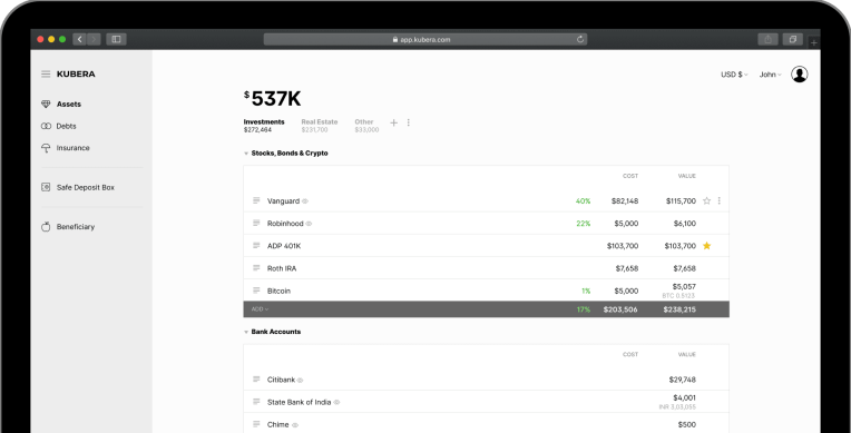 Newton Mail founder returns with launch of personal net worth tracker, Kubera thumbnail