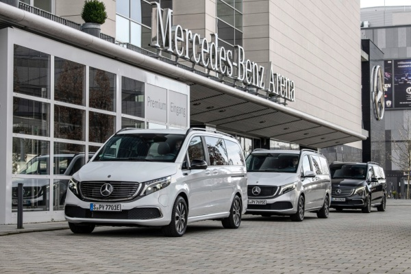 Mercedes-Benz launches sales of its premium all-electric EQV van thumbnail