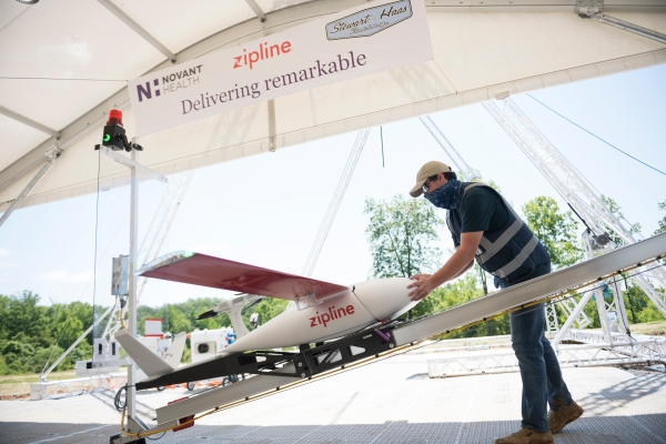 Zipline begins US medical delivery with UAV program honed in Africa thumbnail